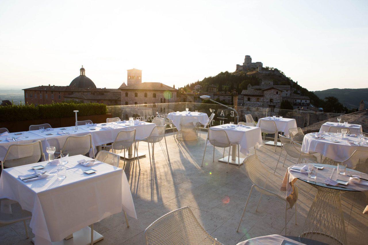 nun restaurant Umbria
