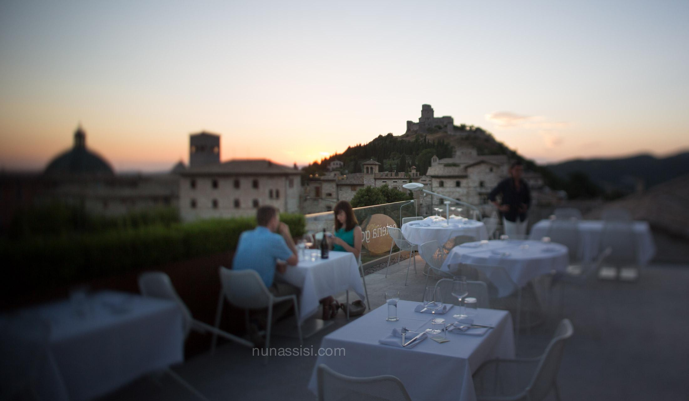 Un esperienza chic di gusto ad Assisi: il Nun ristorante