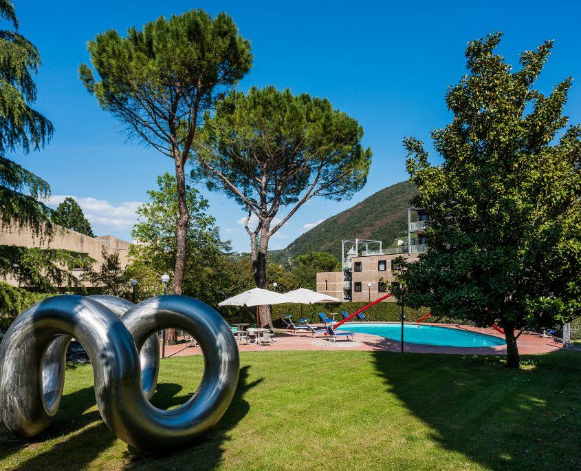 Piscina Spoleto Albornoz Palace Hotel