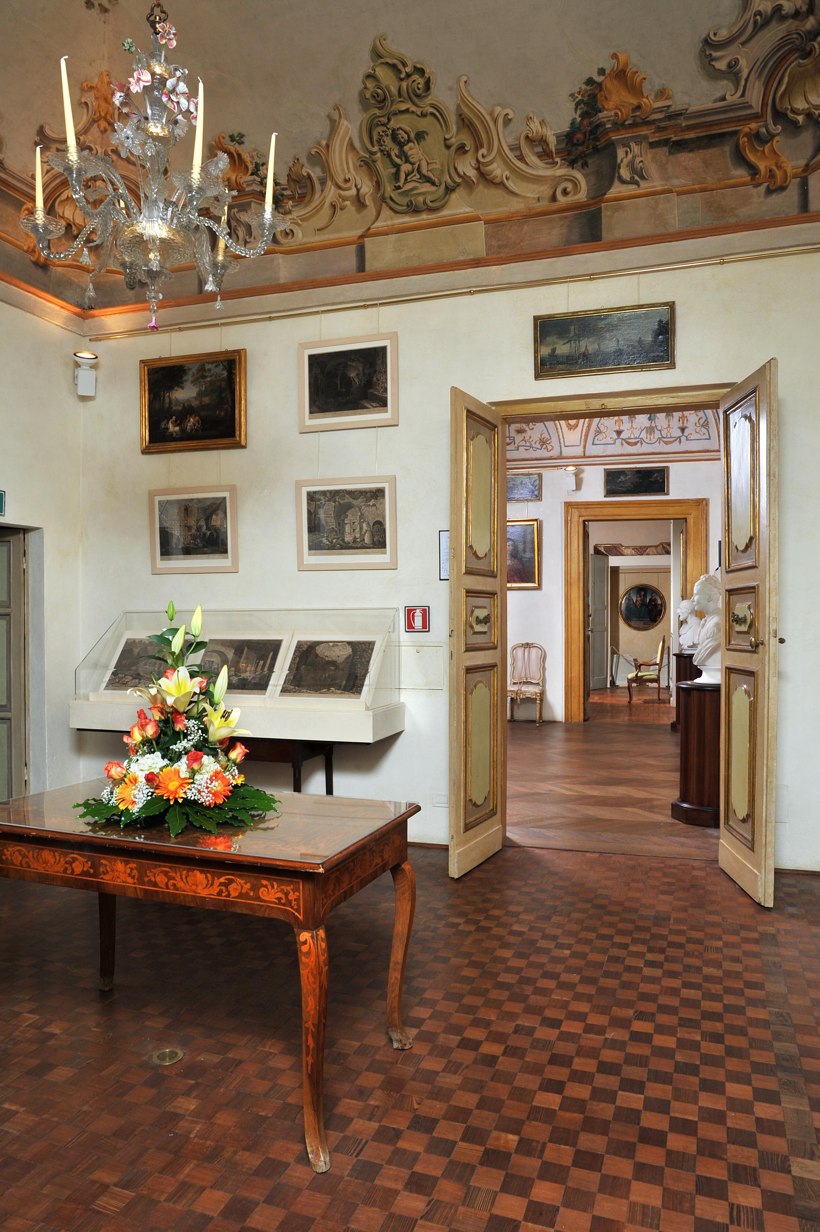 Sala Ugolino - Casa Museo di Palazzo Sorbello PG