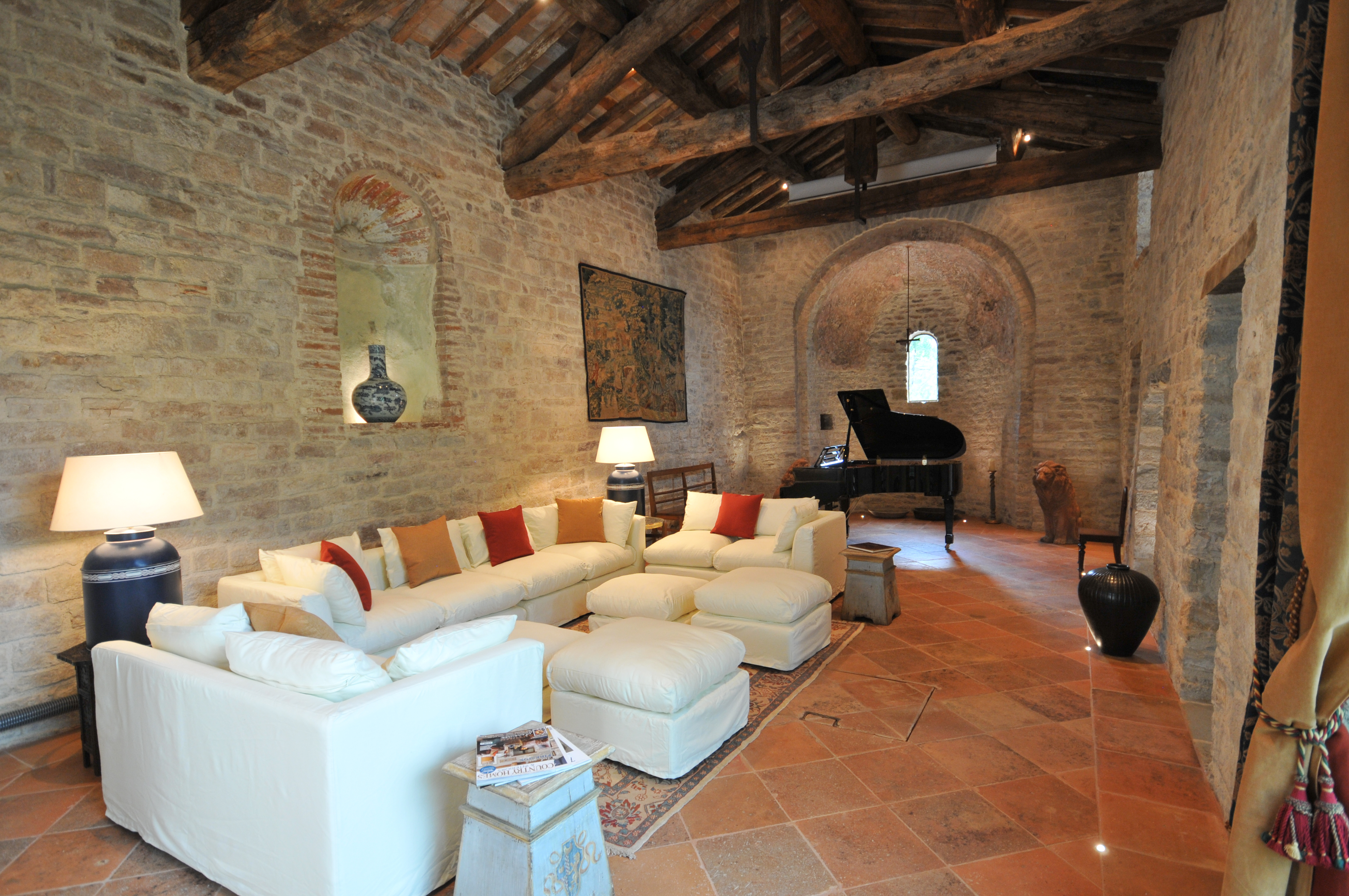 Church Sitting room and grand piano