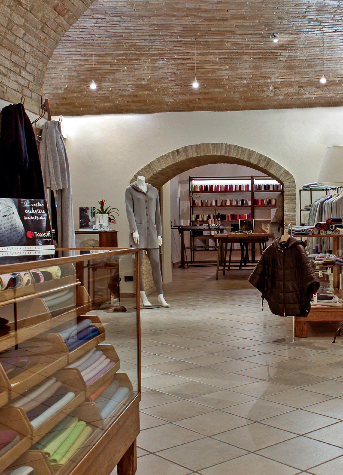 Storie di Cashmere in Umbria: il Factory Store Tasselli