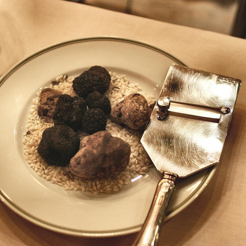 Il tartufo la piu alta tra le esperienze culinarie e di degustazione