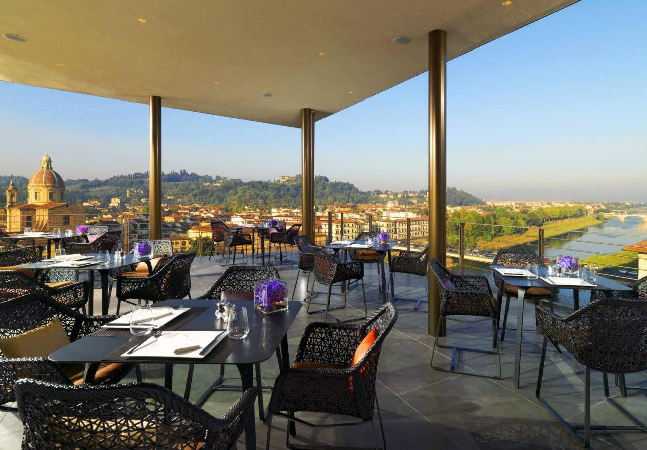 I Rooftop Bar con vista piu belli ed esclusivi a Firenze 1 Sesto on Arno – Westin Excelsior