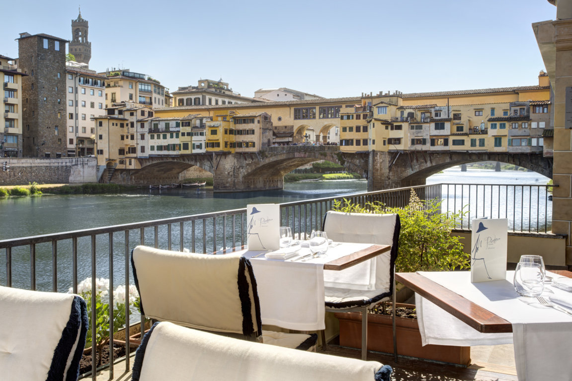 I Rooftop Bar con vista piu belli ed esclusivi a Firenze 2 Hotel Continentale Lungarno collection